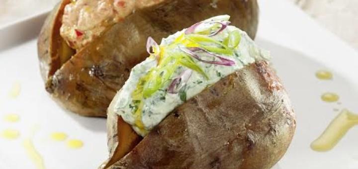 Bayerische Ofenkartoffel vegan