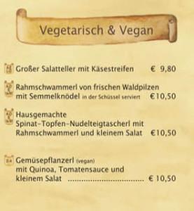 Augustiner Festzelt vegan vegetarisch