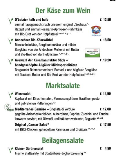 Kuffler's Weinzelt vegan und vegetarisch