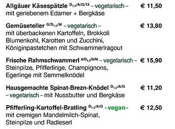 Ochsenbraterei vegetarisch Oktoberfest 2016